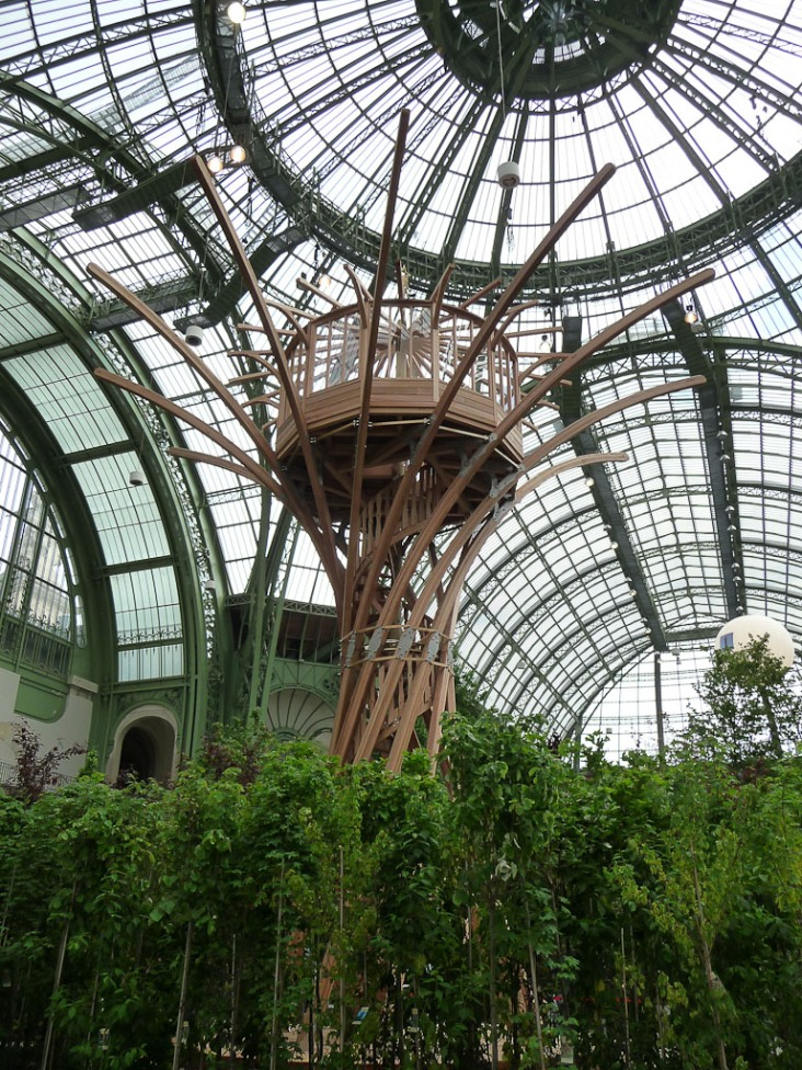 L'Art du Jardin au Grand Palais, Paris 8e (75), 30 mai 2013, photo Alain Delavie