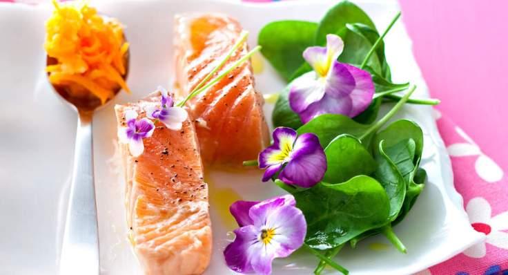 filets-de-saumon-aux-fleurs
