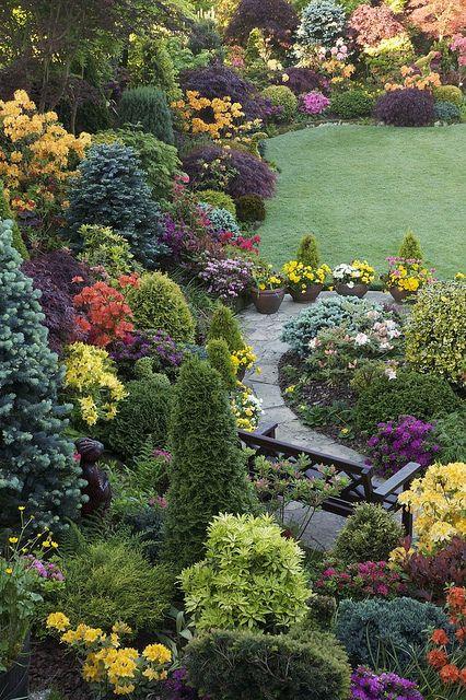 Jardin l anglaise le petit jardinier - Jardins a l anglaise ...