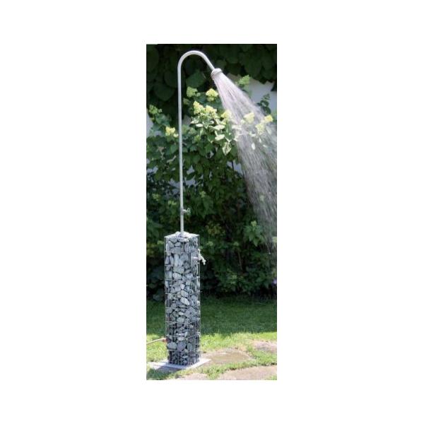colonne-gabion-avec-douche