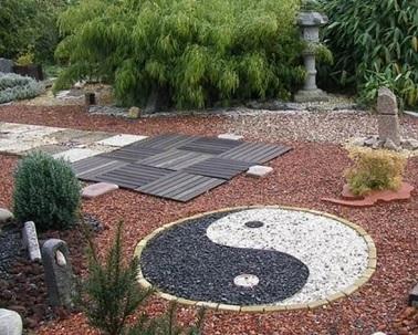 Jardin zen ou jardin japonais le petit jardinier - Decoration japonaise pour jardin ...